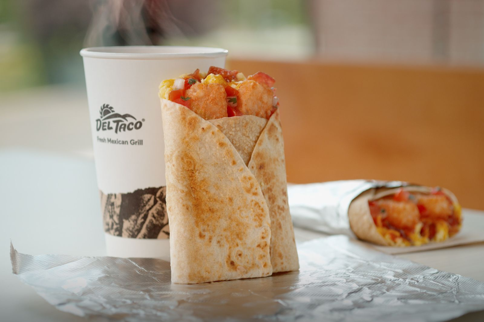 Del Taco's New Breakfast Toasted Wrap