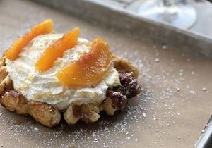 Everything is Peachy Keen at Press Waffle Co.