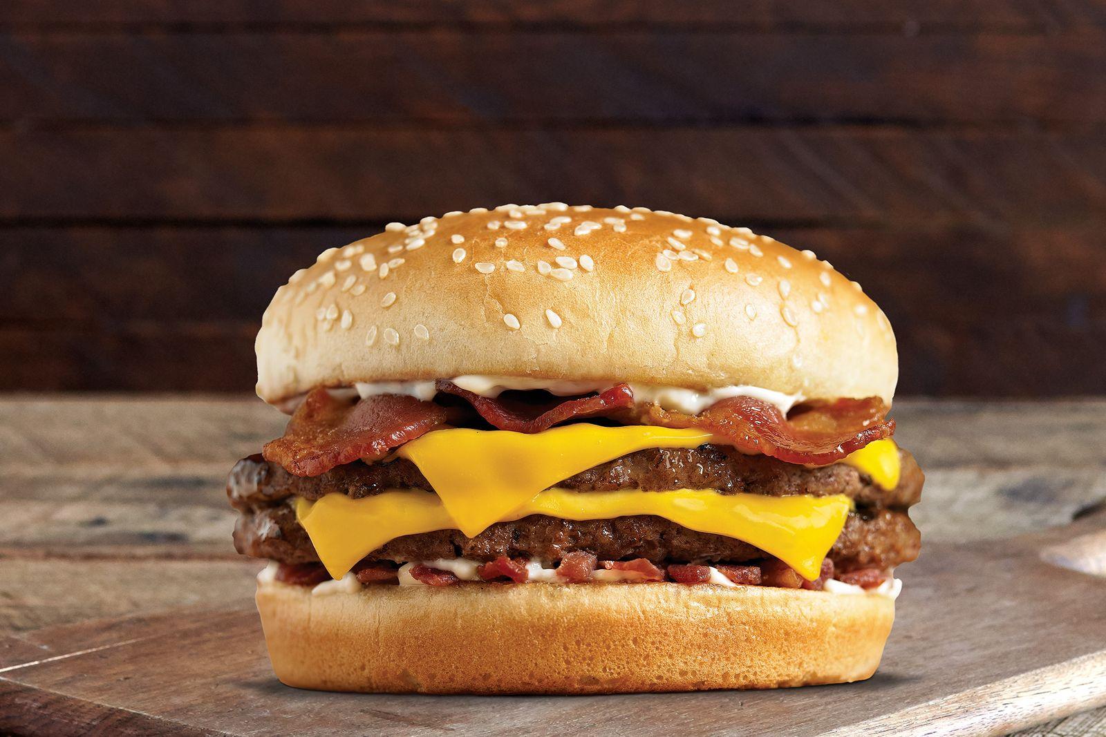 Farmer Boys Xtreme Bacon Boy Burger