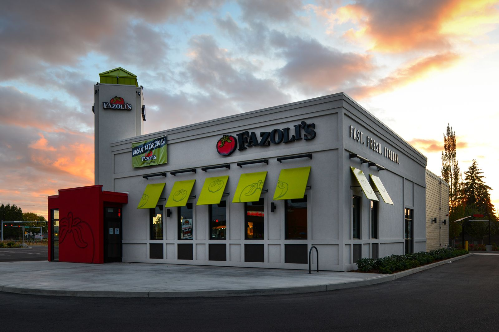 Fazoli's New Restaurant Design Paves the Way for the Future