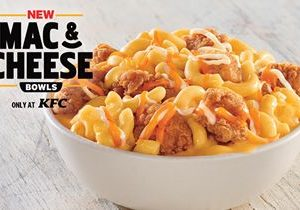 KFC Introduces Mac & Cheese Bowls: The Fan-Favorite Side Dish Is Now A Main Meal