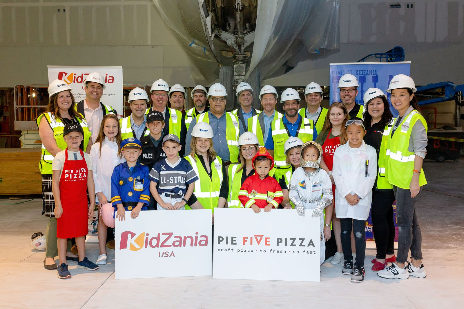 Pie Five Partners with Leading Global Interactive Children's City, KidZania