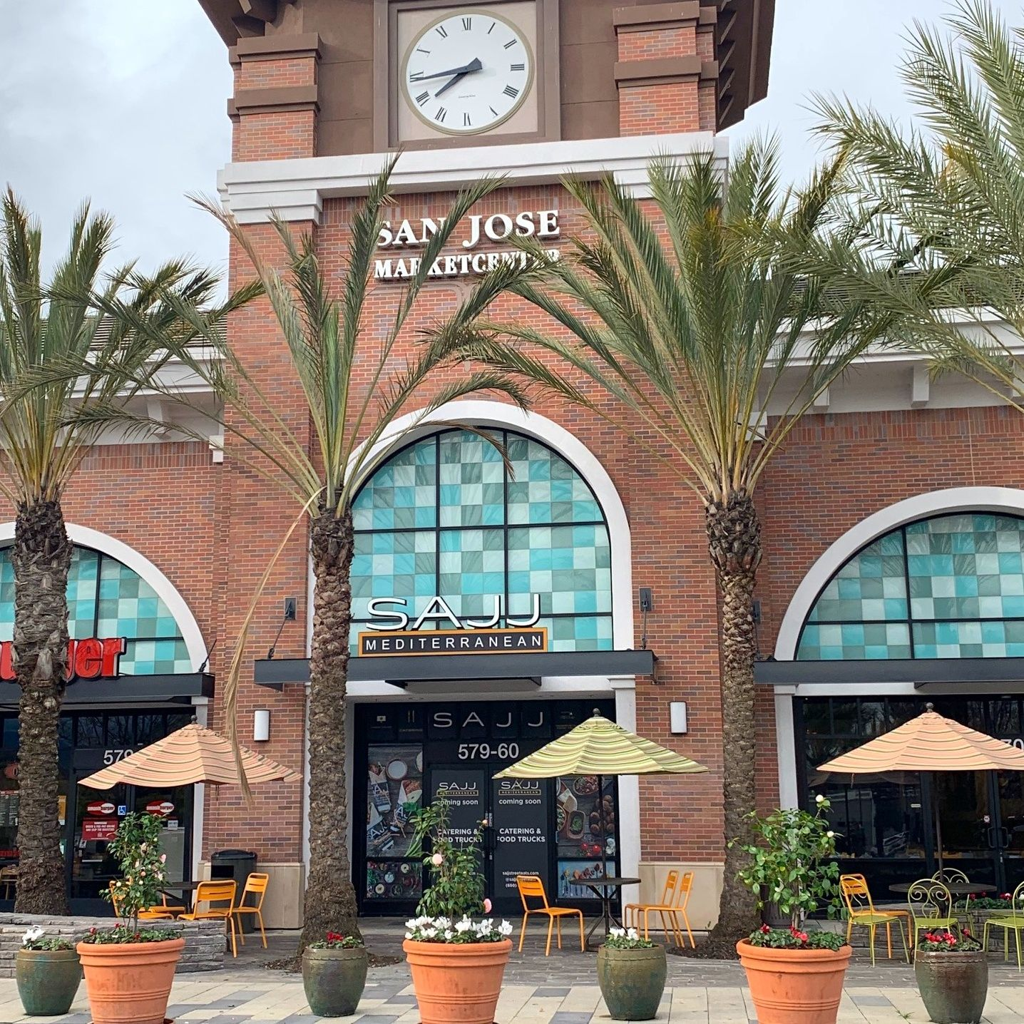 SAJJ Mediterranean, the Mediterranean fast casual concept known for fresh and customizable eats, will celebrate the Grand Opening of its newest restaurant in Downtown San Jose on Friday, September 20, with special deals and promotions. The opening marks SAJJ's 10th location, a milestone which will be celebrated with free samples of Chocolate Hummus & Cinnamon Chips at all locations on September 20.
