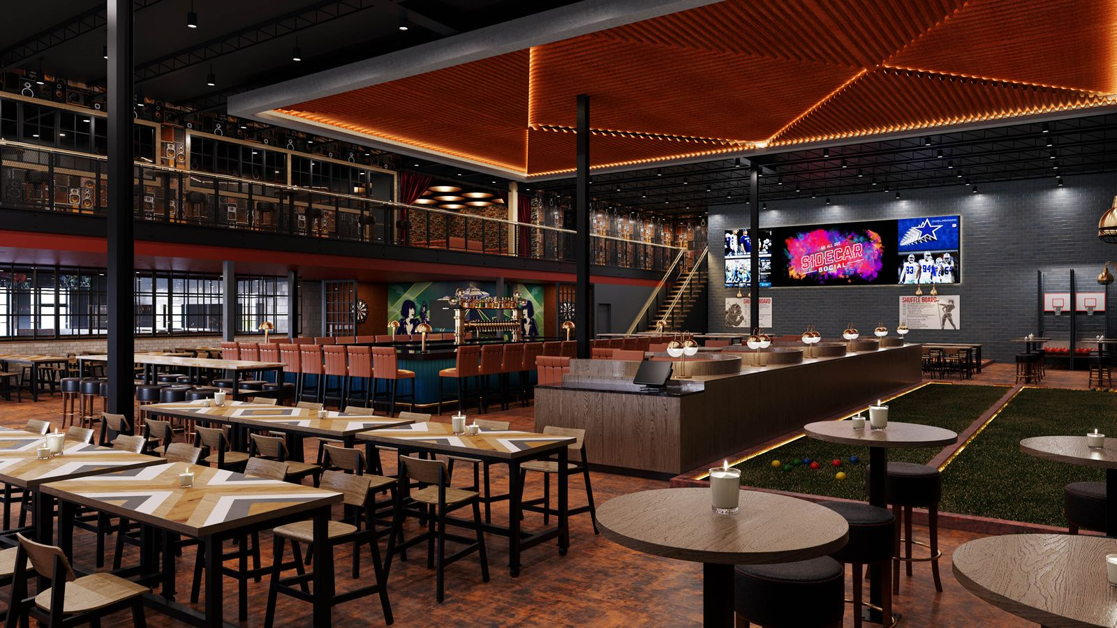 Harrison Develops Concept for New Social Lounge Experience Sidecar Social