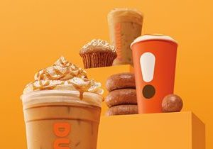 Taste for Fall Fulfilled: Dunkin's Pumpkin Menu Arrives August 21
