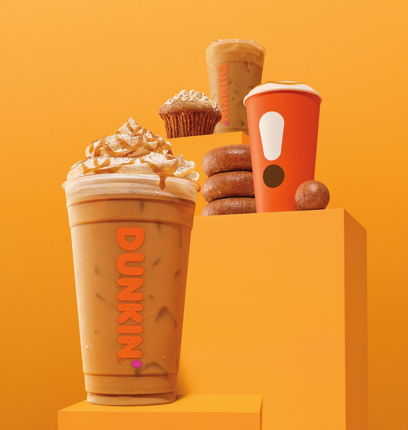 Taste for Fall Fulfilled: Dunkin's Pumpkin Menu Arrives August 21