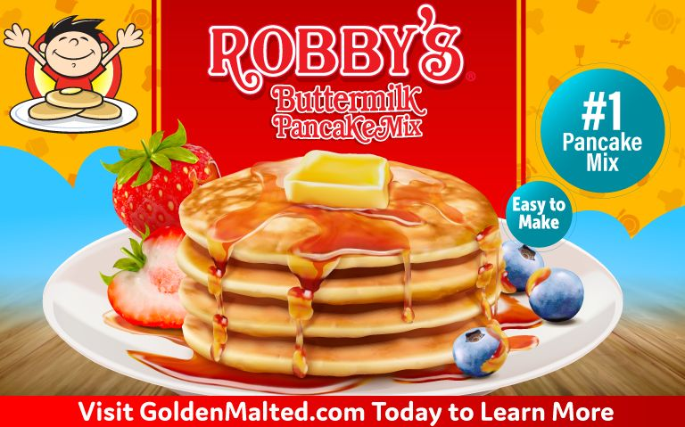 Wow Your Customers with Robby's Pancakes - Exclusively from Golden Malted