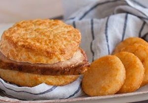 Bojangles' Sizzling Pork Chop Griller Biscuit Returns for a Limited Time
