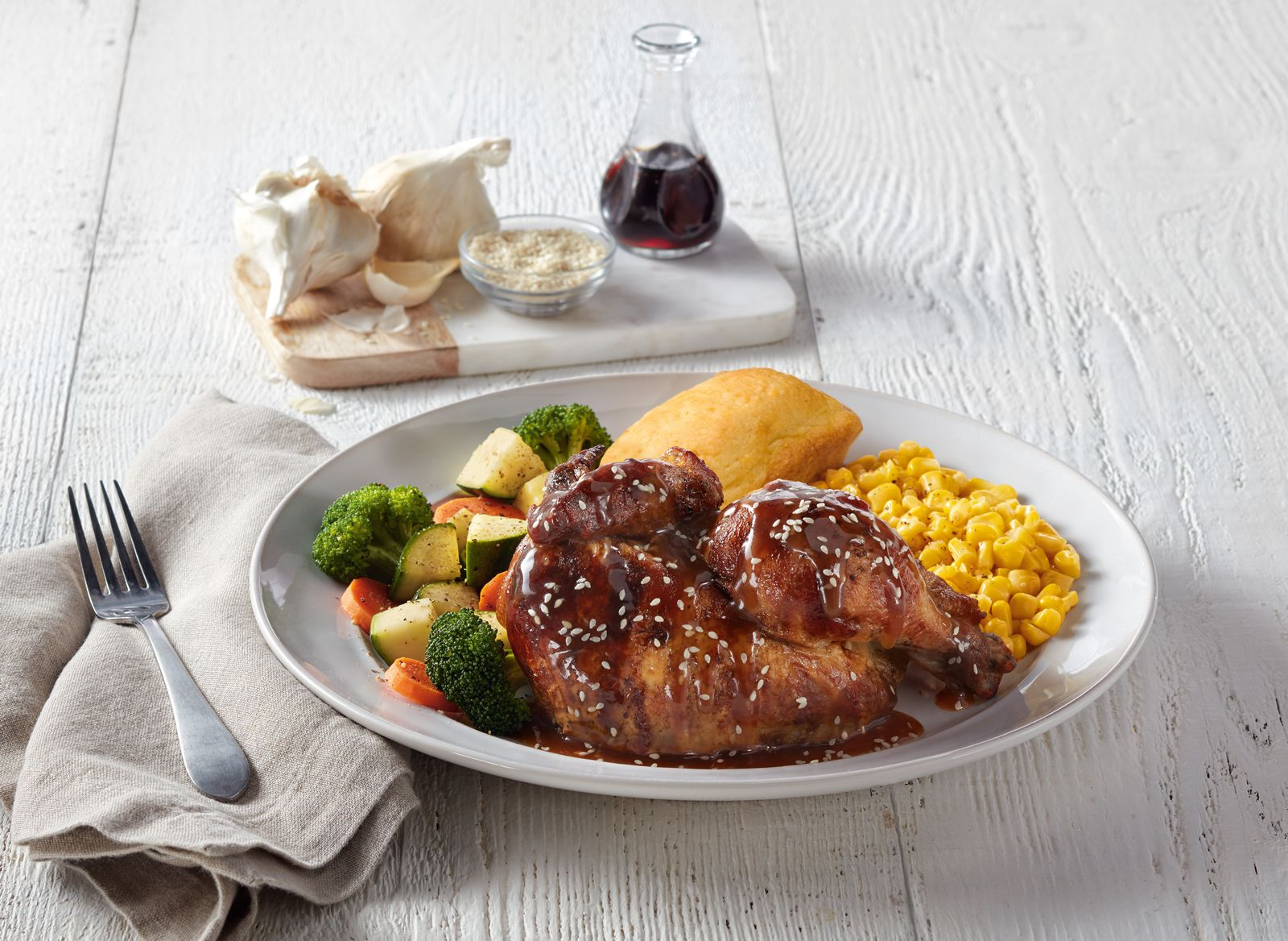 Boston Market Sesame Rotisserie Chicken