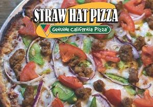 Cauliflower Crust Now Available at Straw Hat Pizza