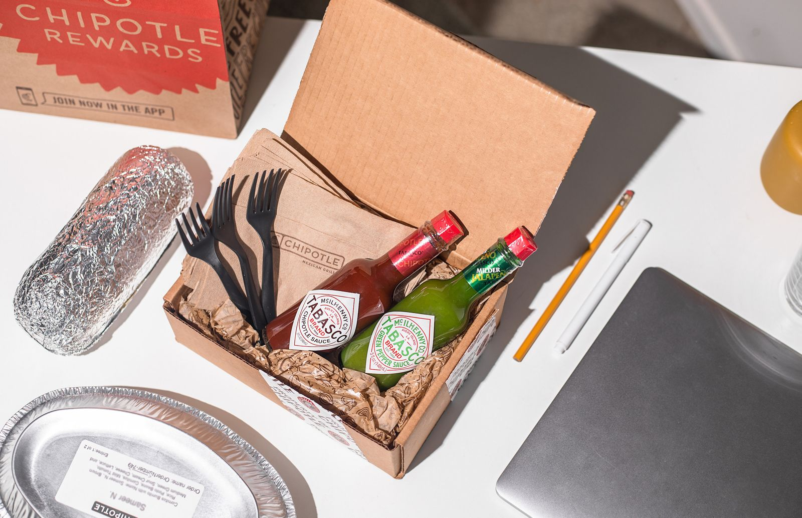 "Chipotle Kicks Off Back To School With Free Delivery Sundays And ""Things You 'Borrow' Kits"""
