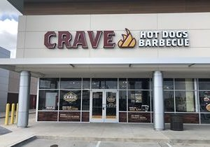 Crave Hot Dogs and BBQ in Spring, Texas Has Great Turn out for Grand Opening!