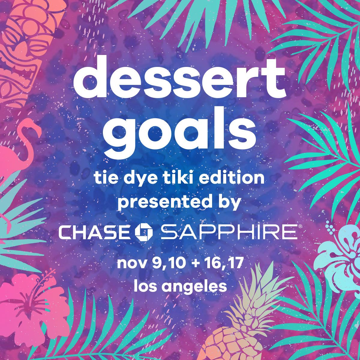 Dessert Goals Returns to Los Angeles for 3rd Year