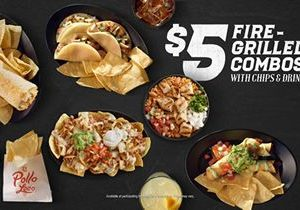 El Pollo Loco Fires Up $5 Combos Menu with New Offerings