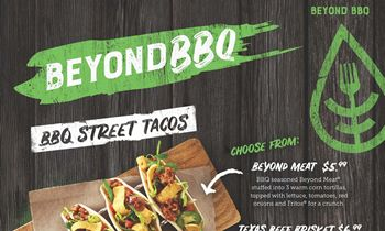 Famous Dave's Launches Testing of Beyond Meat Menu Items
