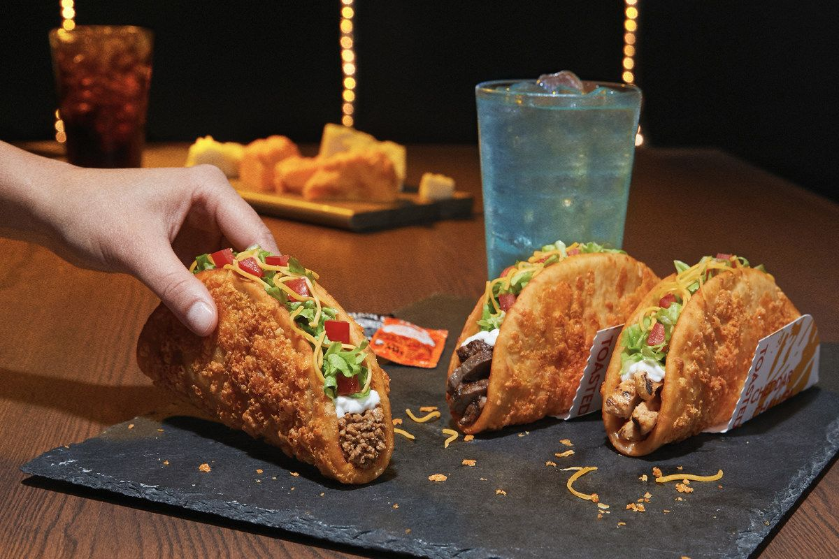 Taco Bell Takes Craveable Innovation To The Next Level - The Toasted Cheddar Chalupa Hits Restaurants September 12