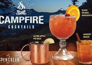 Aspen Creek Grill Introduces New Fall Fresh Campfire Cocktails
