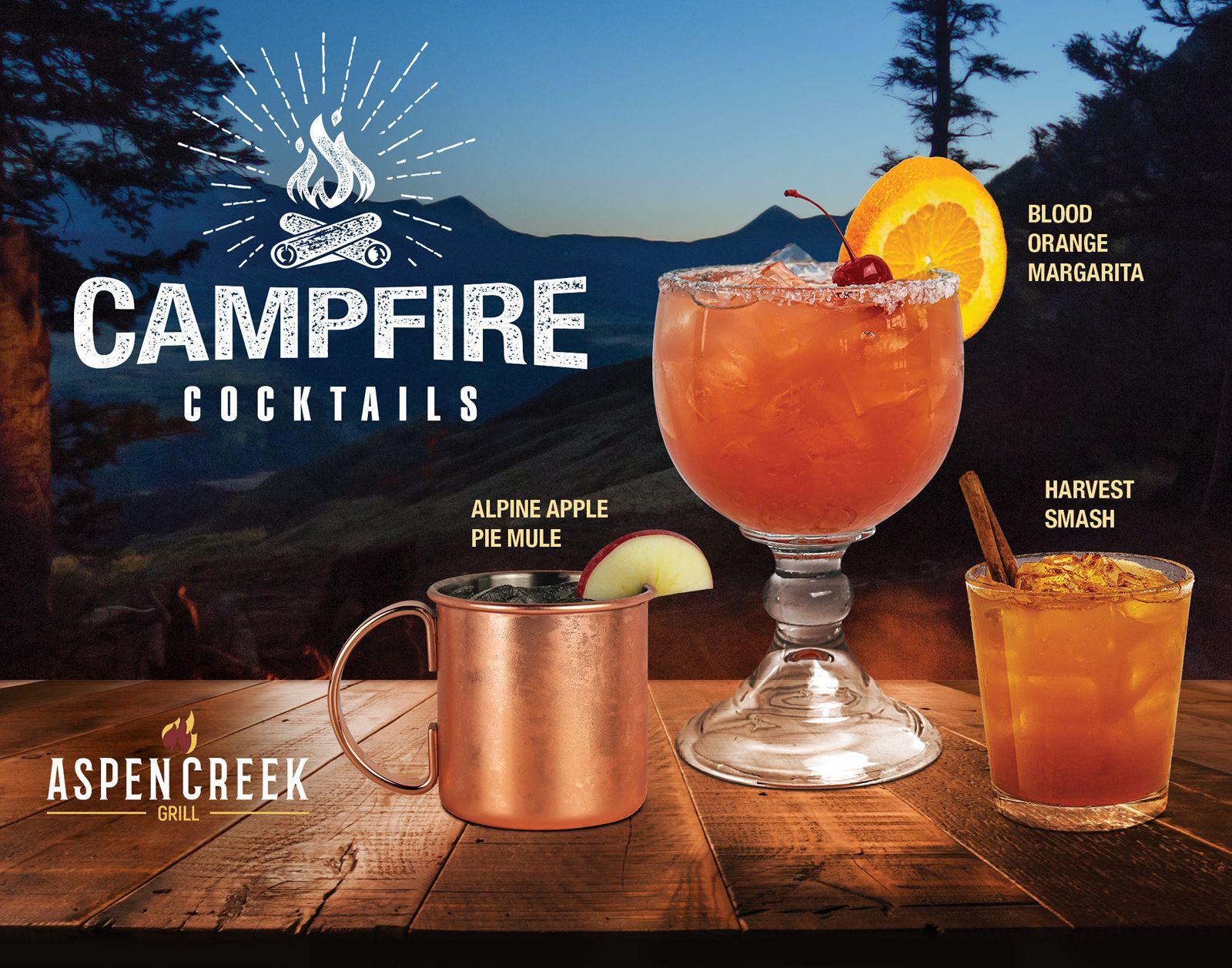 Is Aspen Creek Grill Open Christmas Day 2020 Aspen Creek Grill Introduces New Fall Fresh Campfire Cocktails