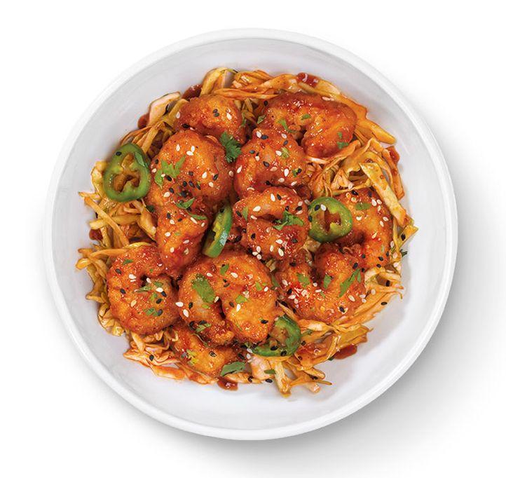 Buffalo Wings & Rings Spicy Korean Shrimp