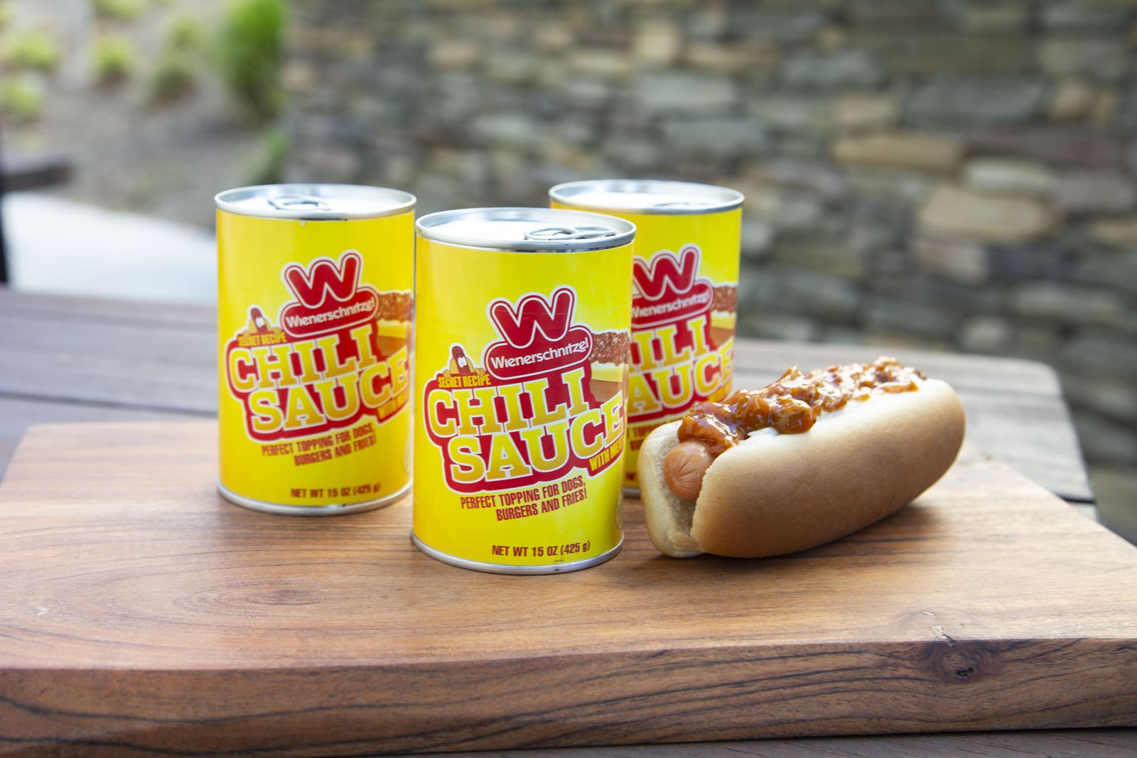 By Popular Demand, World's Largest Hot Dog Chain Now Offering Its Popular Chili Sauce for Purchase