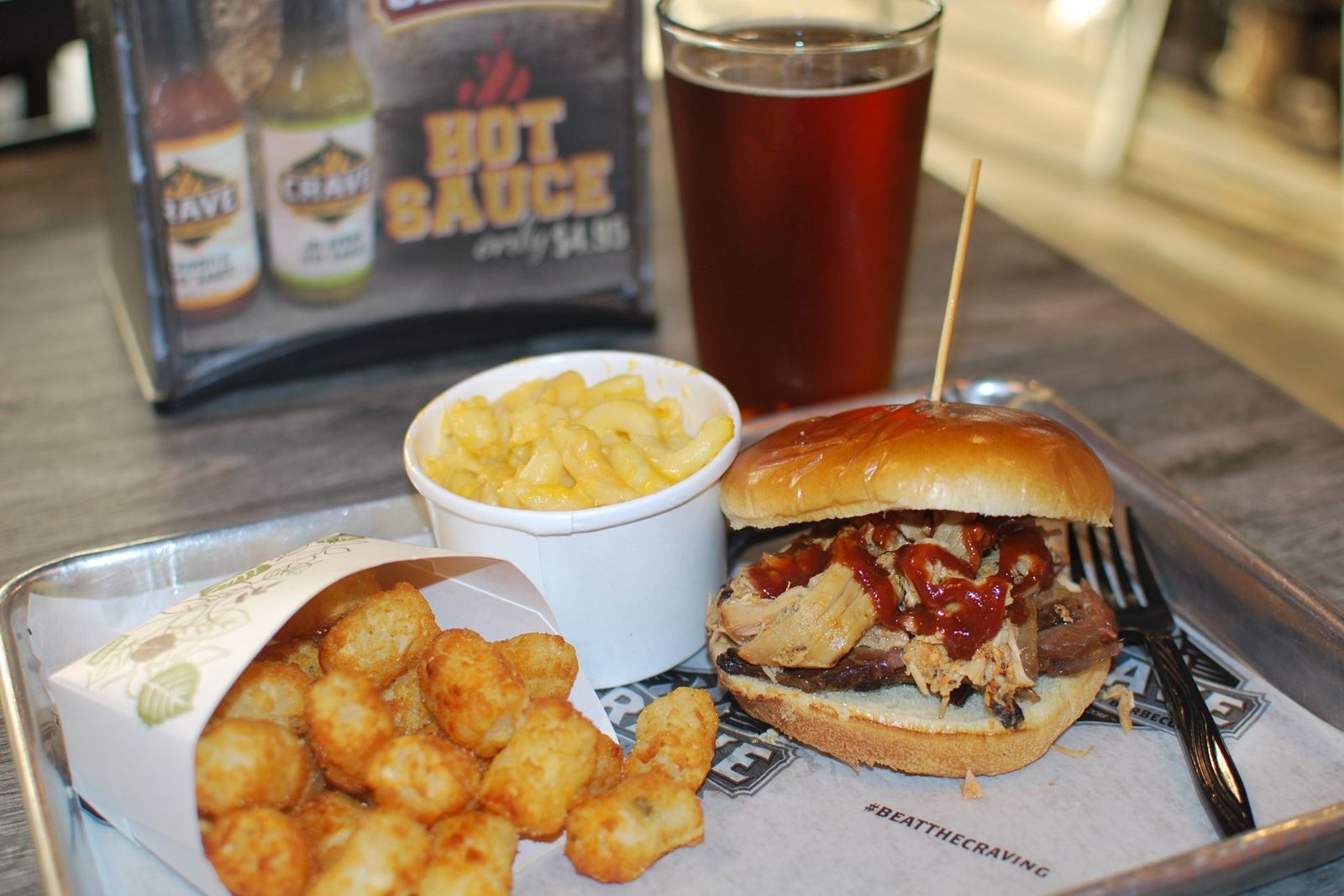 Crave Hot Dogs and BBQ supports Veterans