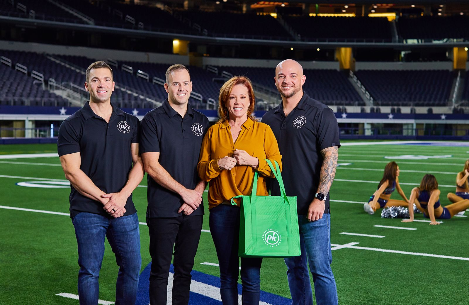 Joe Shaw, Nick Corso, Kelli Finglass and Kyle Clark