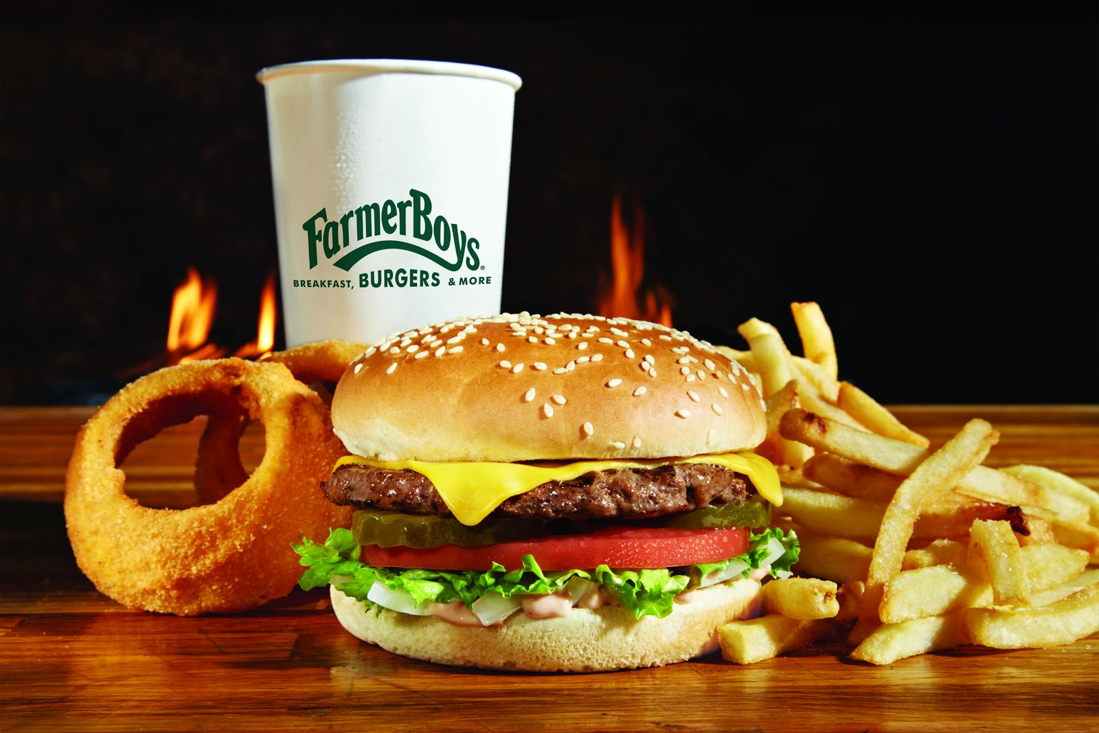 Farmer Boys, the Southern California-based fast casual concept known for its award-winning burgers and exceptional service, will open doors at 23190 Cajalco Expressway in Perris, Calif. in November, with a Grand Opening in January 2020. The new location is the 100th opened by the concept, and marks a homecoming for Farmer Boys, which opened its original restaurant in Perris in 1981.