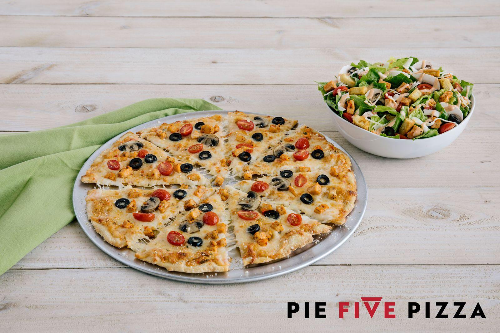 Next Stop on Pie Five's Pizza Passport Sweepstakes: Italian Chicken