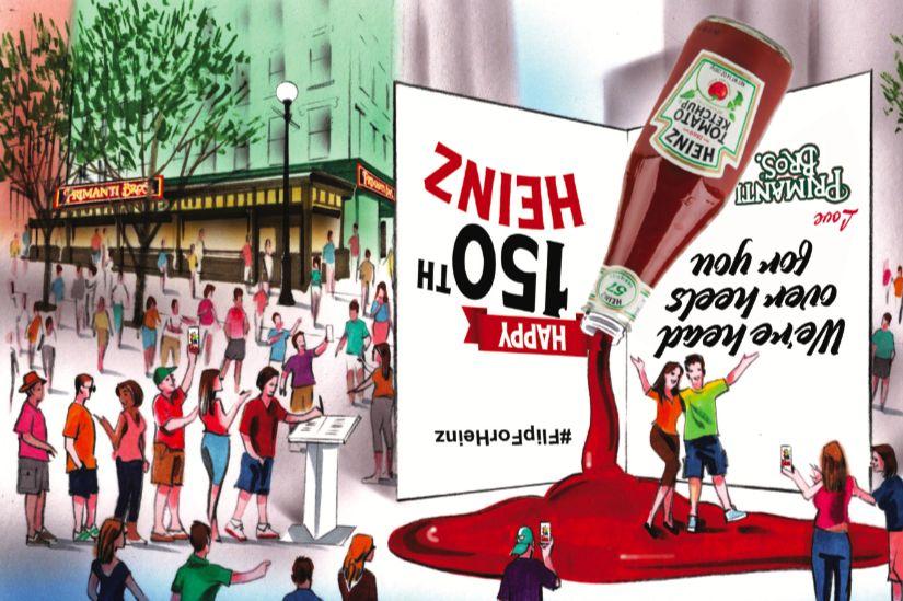 Primanti Bros. Restaurant and Bar #FlipForHeinz to Celebrate 150 Years