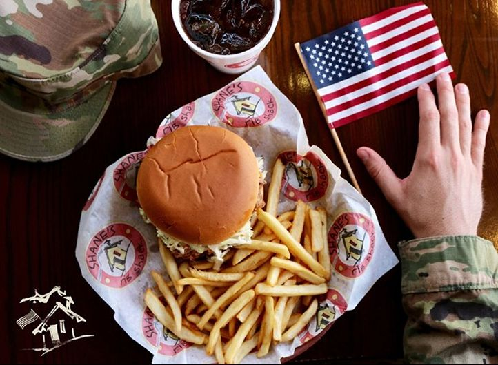 Shane's Rib Shack to Provide a Free Meal to Military