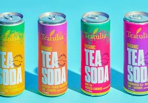 Teatulia Organic Tea Soda Expands to the East Coast