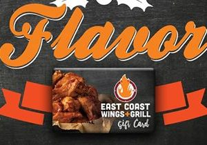 East Coast Wings + Grill Gives Back to Local Food Banks This Holiday Season