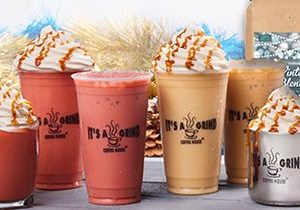 It's A Grind Coffee House Unwraps New Holiday Beverage Lineup
