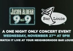 "Jason Aldean Throws Down For New Album With ""9 At 9"" Special During Biggest Bar-Hopping Night Of The Year, Nov. 27"