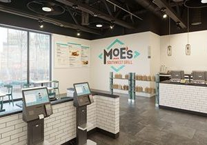 Moe's Southwest Grill Launches First All-Digital / Kiosk-Only Design
