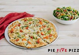 Transport Your Taste Buds to the Mediterranean During Pie Five's Pizza Passport Sweepstakes