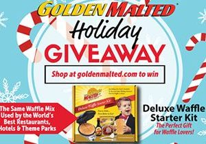 Celebrate the Holidays with America's Favorite Waffles – Limited Time Holiday Giveaway