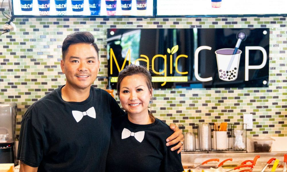 High-Quality Bubble Tea Concept - Magic Cup Cafe to Franchise Five New Locations