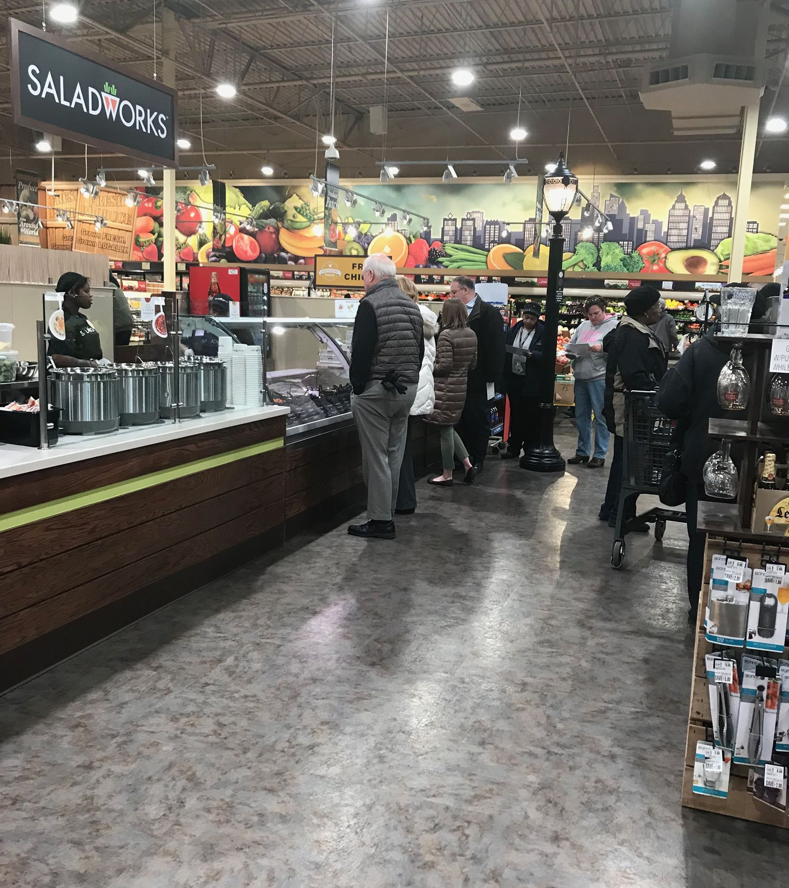 Saladworks Continues Expansion with ShopRite and Fresh Grocer