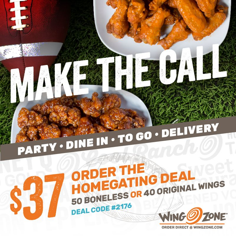 Wing Zone Launches College Bowl Pick'em Contest