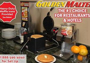 Add the #1 Rated Hotel & Restaurant Waffle to Your Menu – It's Easy with Golden Malted