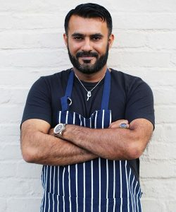 Award-winning Chef Imran Ali Mookhi has announced the opening of his second restaurant, Khan Saab, in early February in Downtown Fullerton.