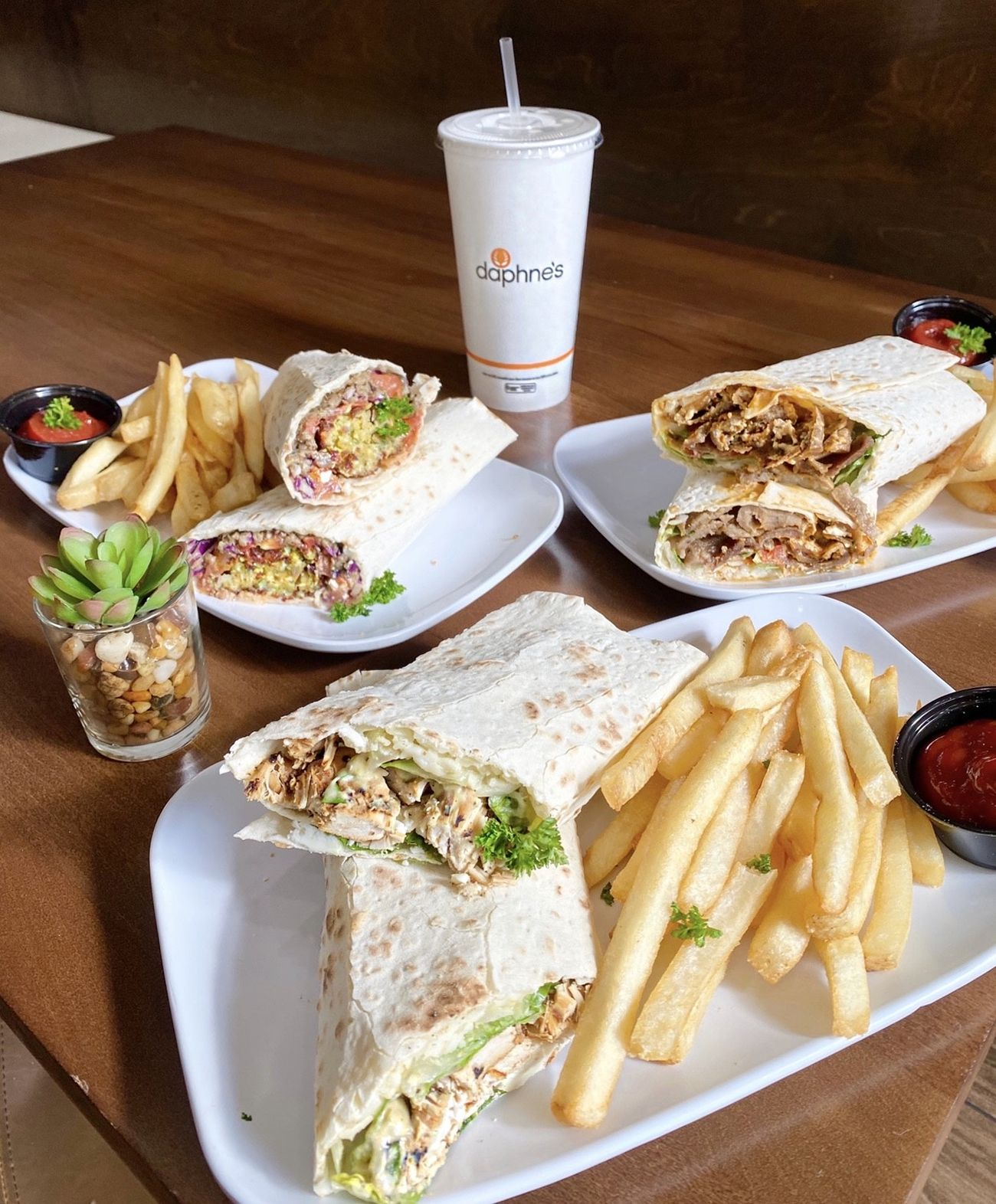 Daphne's has launched new and limited-time me lavash wraps at all locations. The wraps come in three varieties, each made with soft, unleavened lavash bread and handmade ingredients.