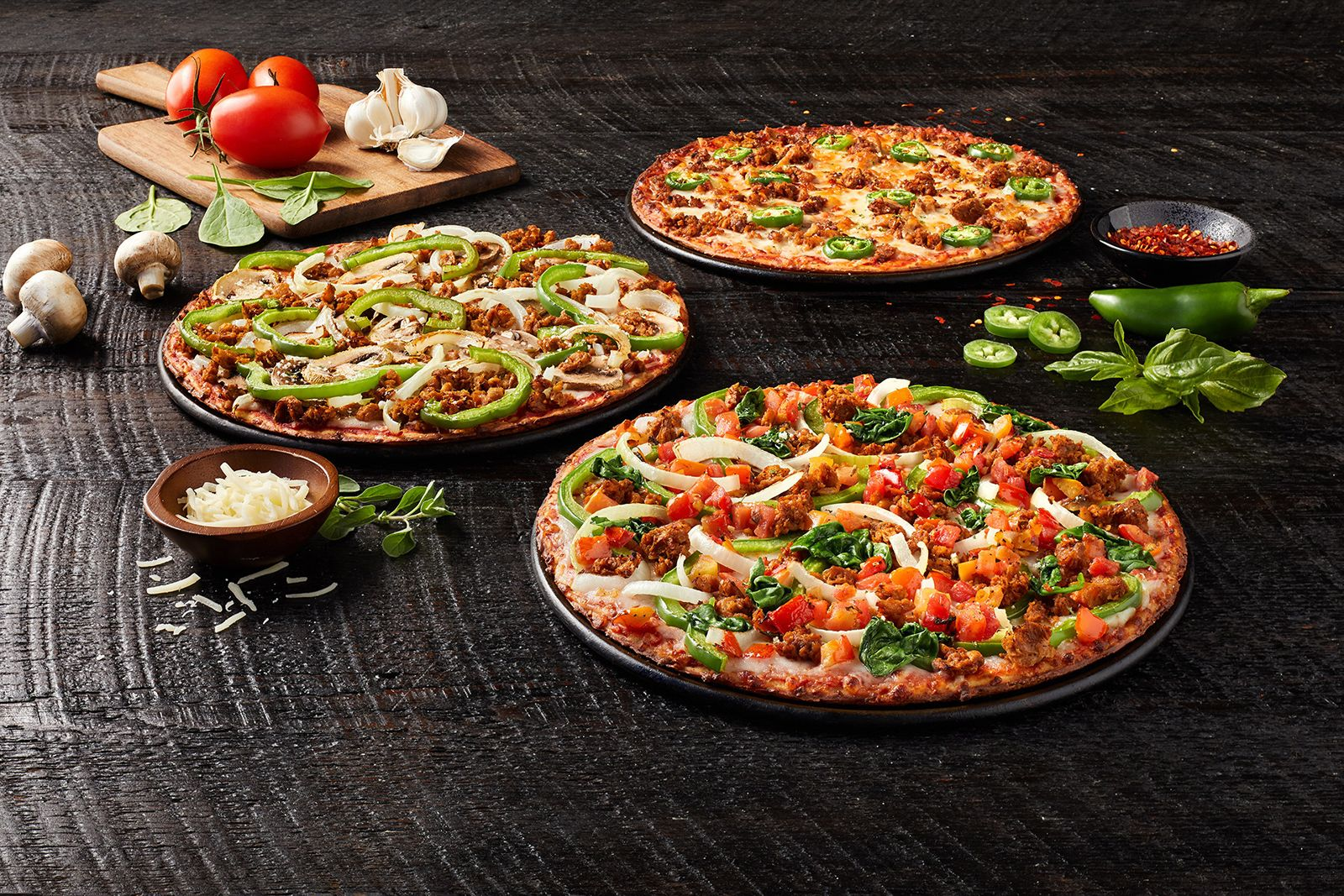 Donatos Delivers Three Cauliflower Crust Signature Pizzas