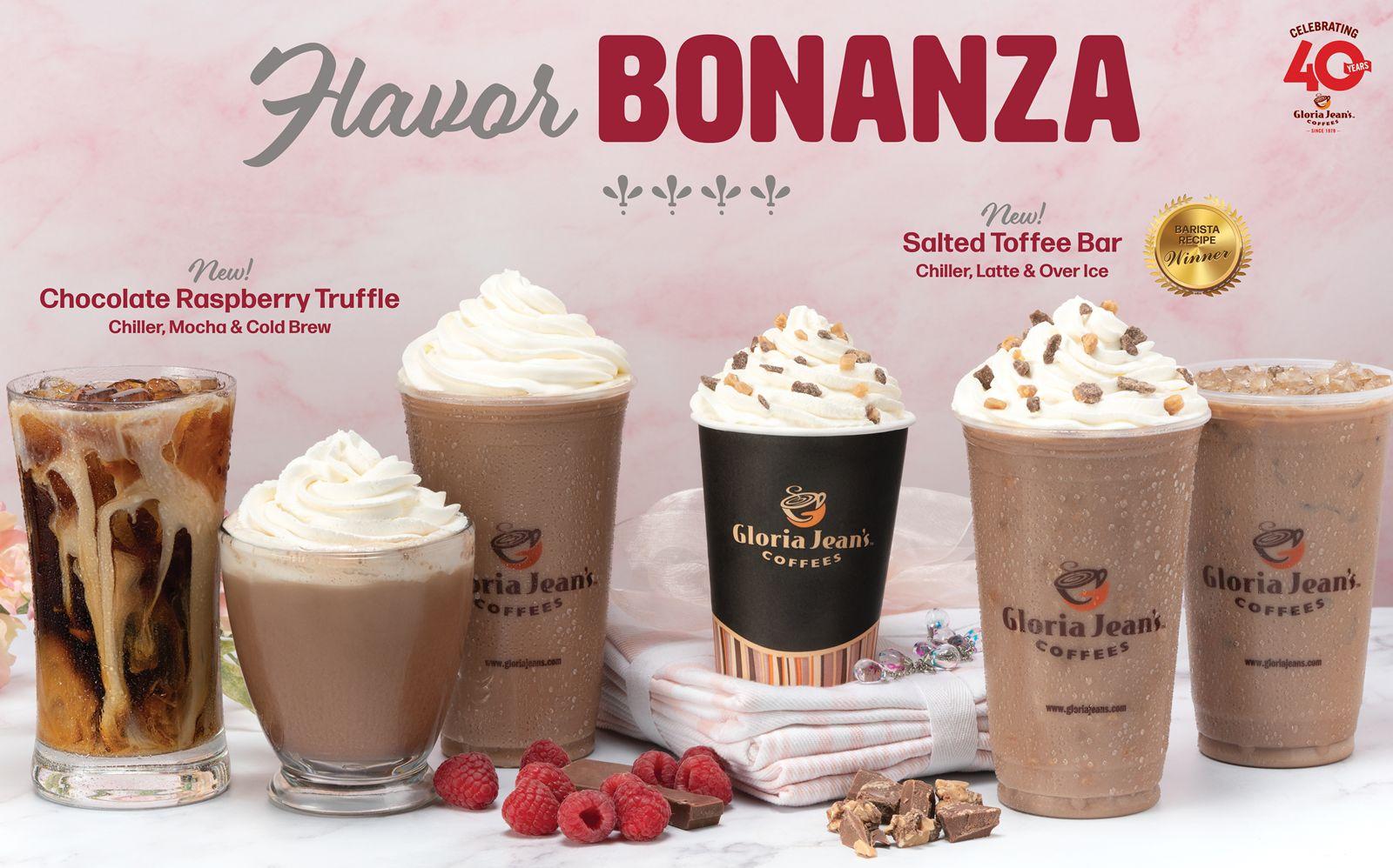 Gloria Jean's Coffees' Winter Menu Raises the Bar on Sweet & Salty!