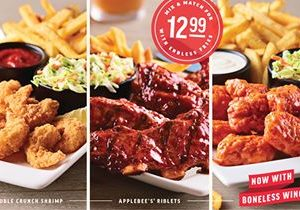 New Decade, New Twist on Applebee's Famous All You Can Eat Promotion