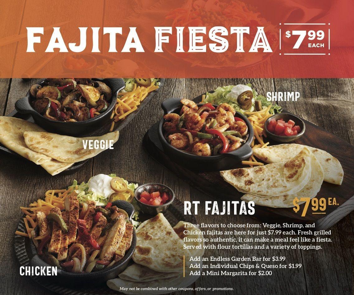 Ruby Tuesday Spices up Menu With a Fajita Fiesta