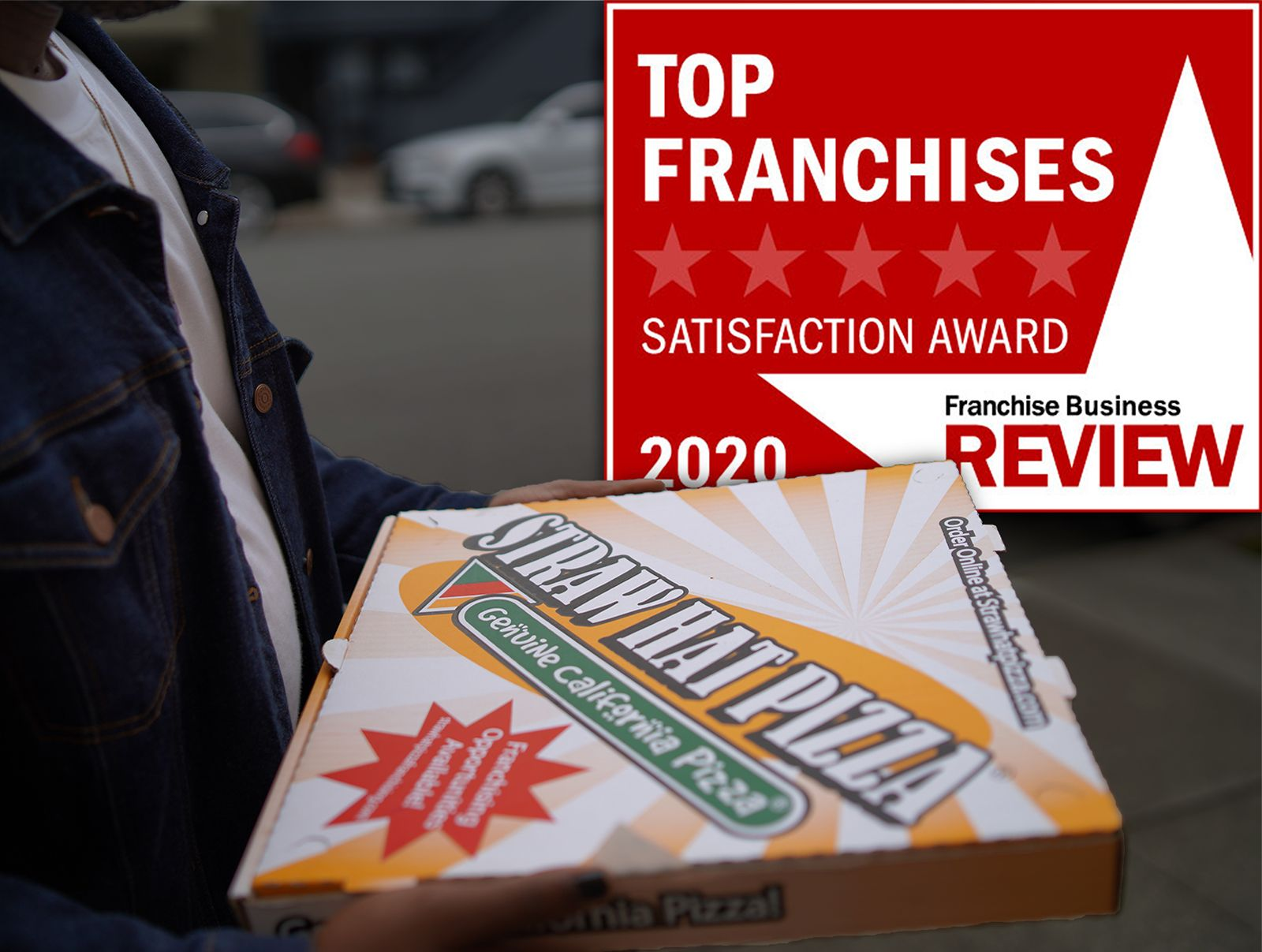 Straw Hat Pizza Named a 2020 Top Franchise by Franchise Business Review
