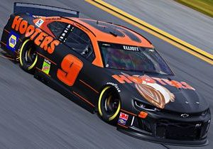 Hooters Invites Race Fans to Root for NASCAR Driver Chase Elliott with Special Race Day Offers