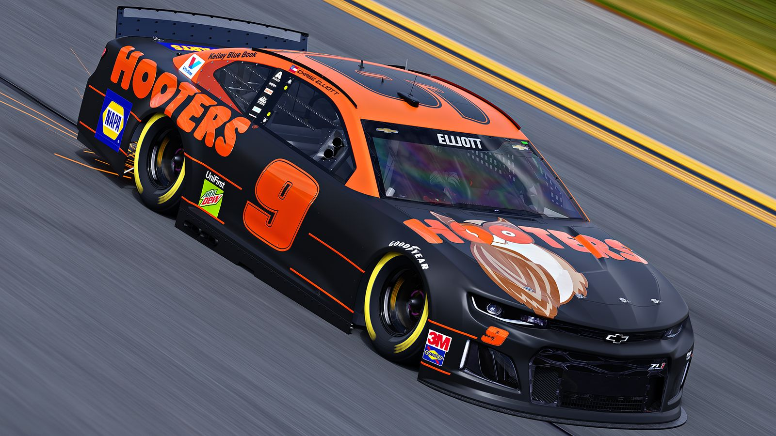 Hooters Invites Race Fans To Root For Nascar Driver Chase Elliott With Special Race Day Offers Restaurantnews Com